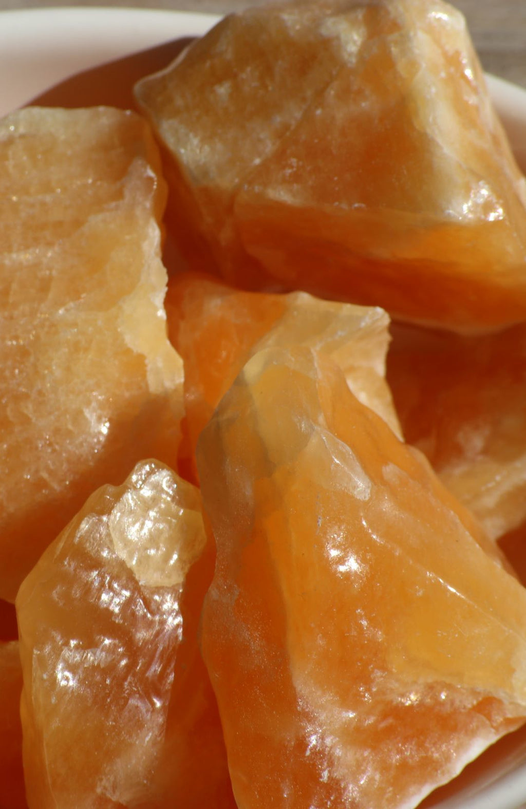 Orange Calcite Raw Chunks (Med)