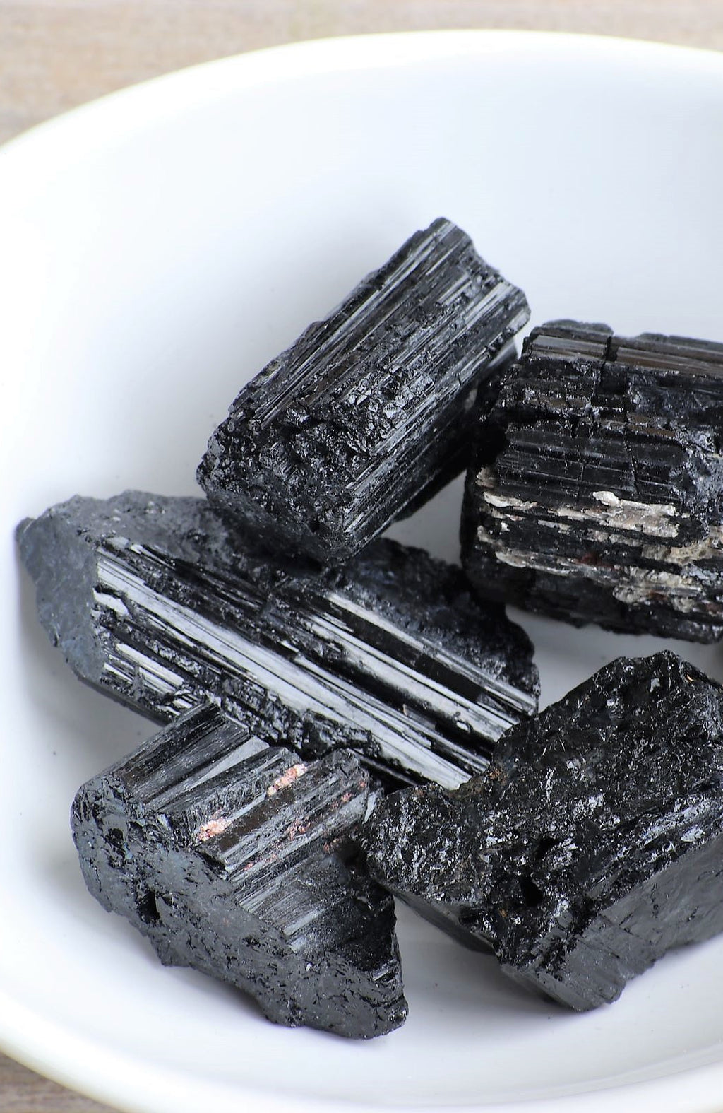 Black Tourmaline Raw Tumbled Stone