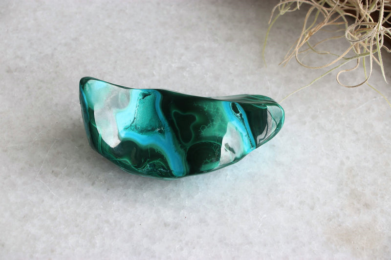 Chrysocolla/Malachite Freeform