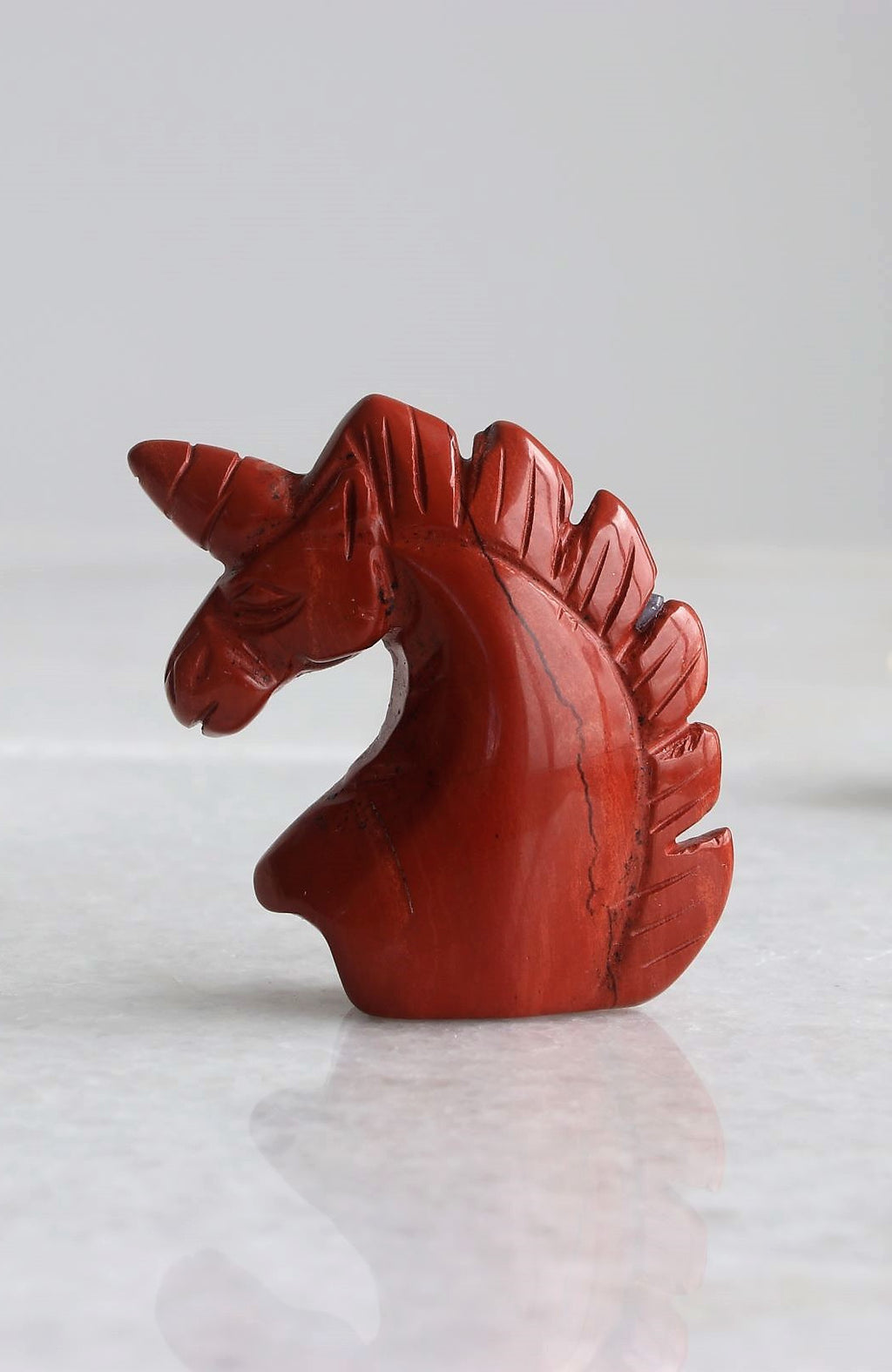 Red Jasper Unicorn