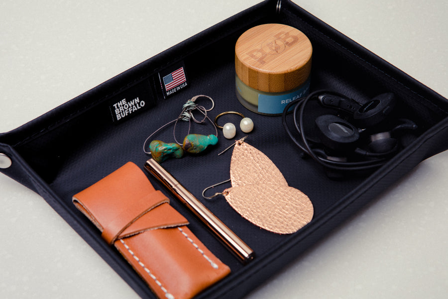 Travel Valet Tray-Higher End Goods