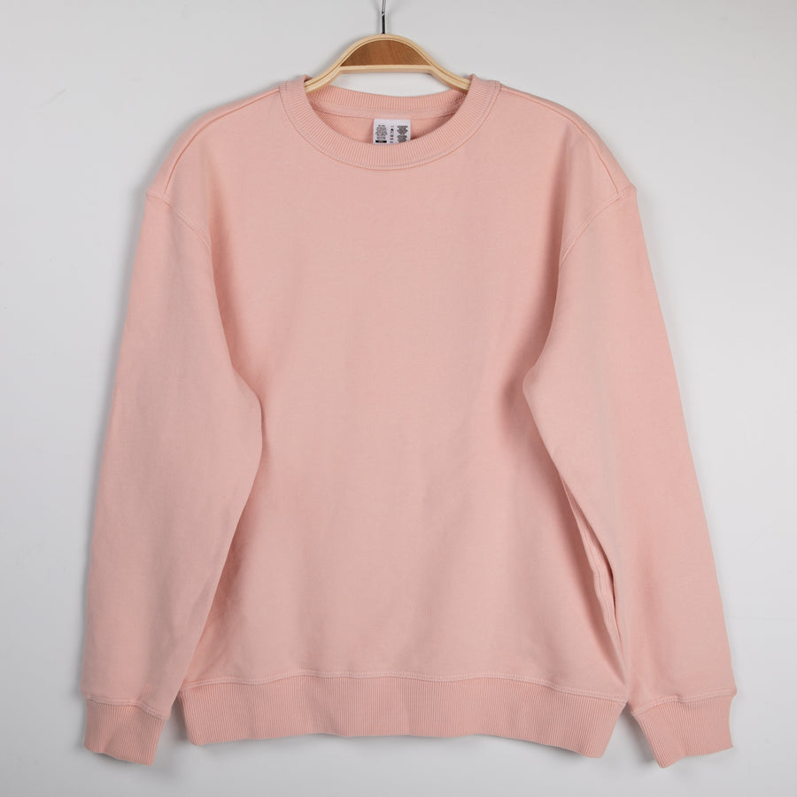 Women's Embroidered Leaf Sweatshirt-Higher End Goods