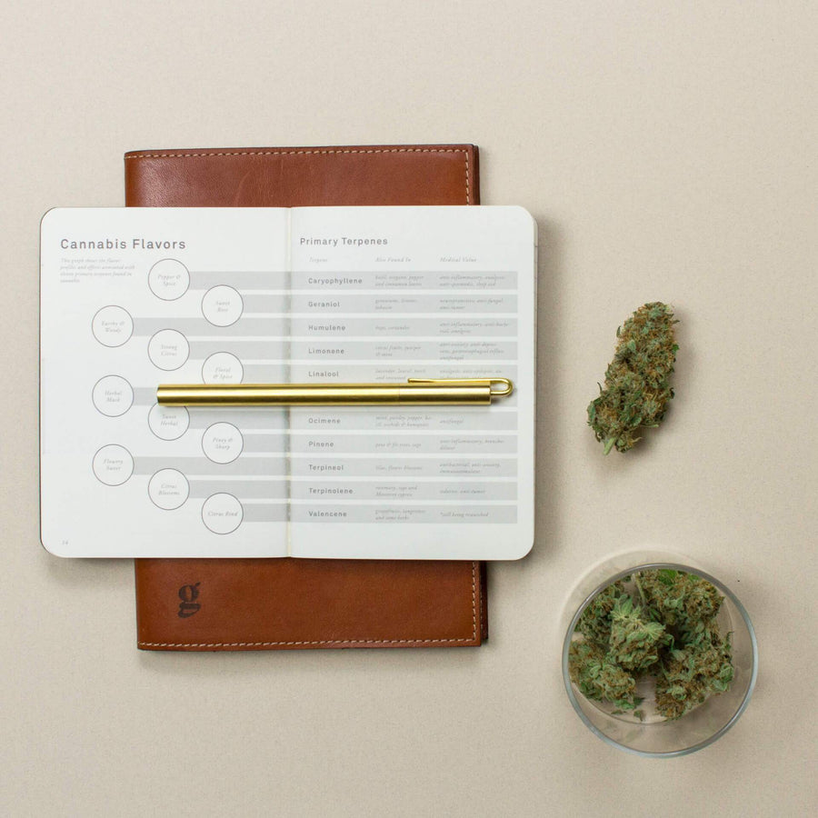 The Cannabis Taster Notebook-Higher End Goods