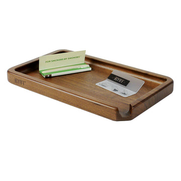 RYOT® Solid Wood Tray in Walnut