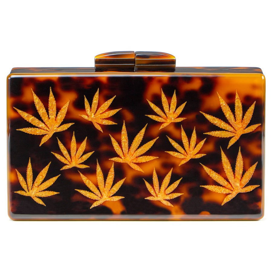 California Clutch in Canyon Tortoise-Higher End Goods