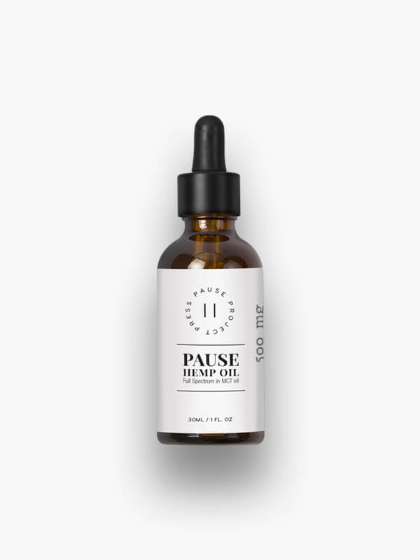 Pause Full-Spectrum CBD Oil-Higher End Goods