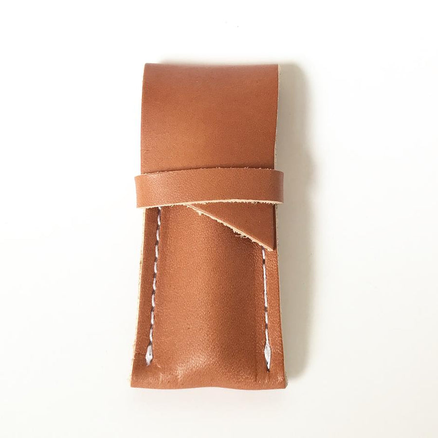 One Hitter + Leather Sheath-Higher End Goods