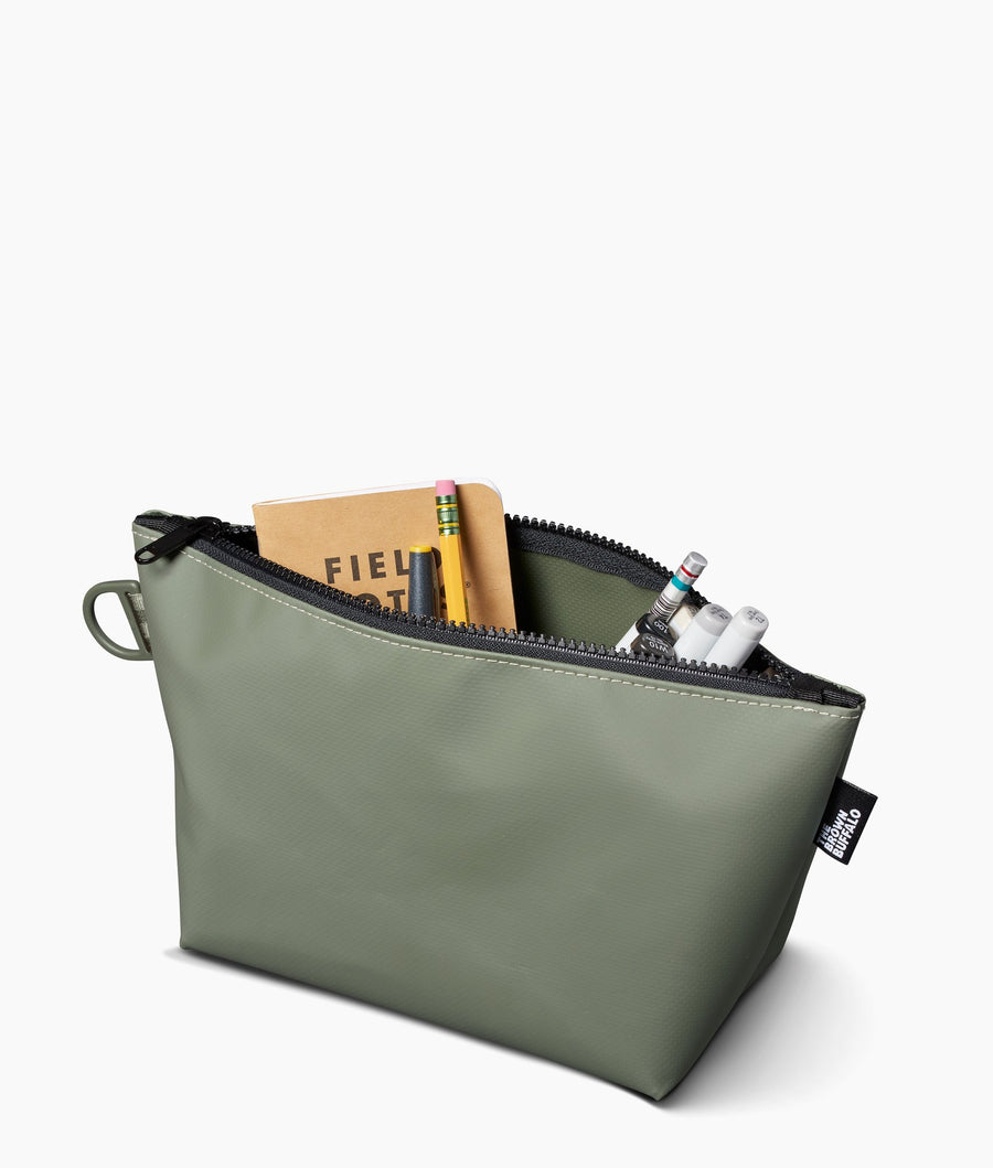 Stash Bag aka Dopp Kit (Sage Green)-Higher End Goods