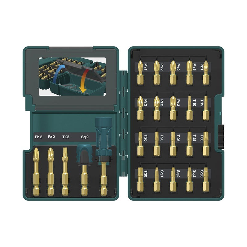 Set di inserti Makita B-49915