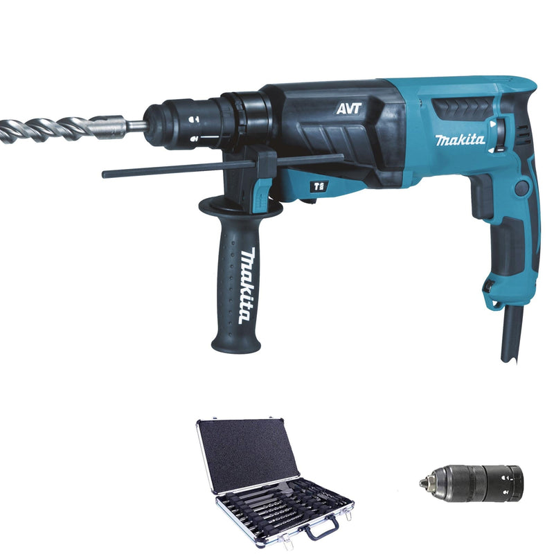 Tassellatore Scalpellatore Makita HR2631FT12 800W