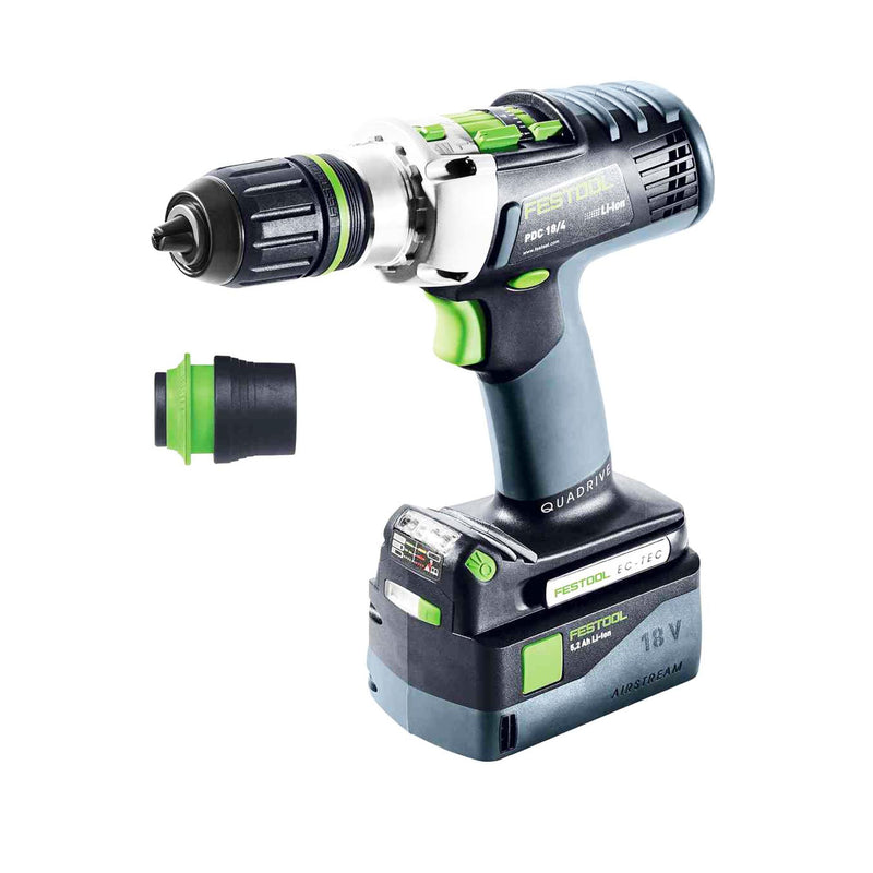 Trapano Festool PDC 18/4 Li 5,2 Plus