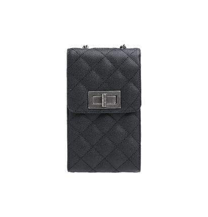 Caviar leather phone bag