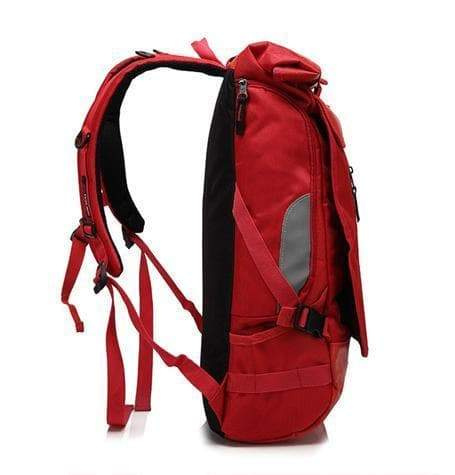 Leisure backpack, Red
