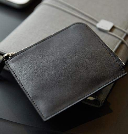 Cattle leather coin wallet