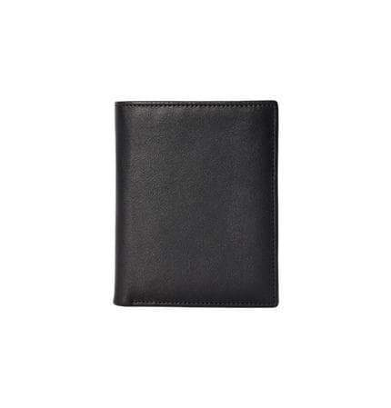 Cattle leather short wallet