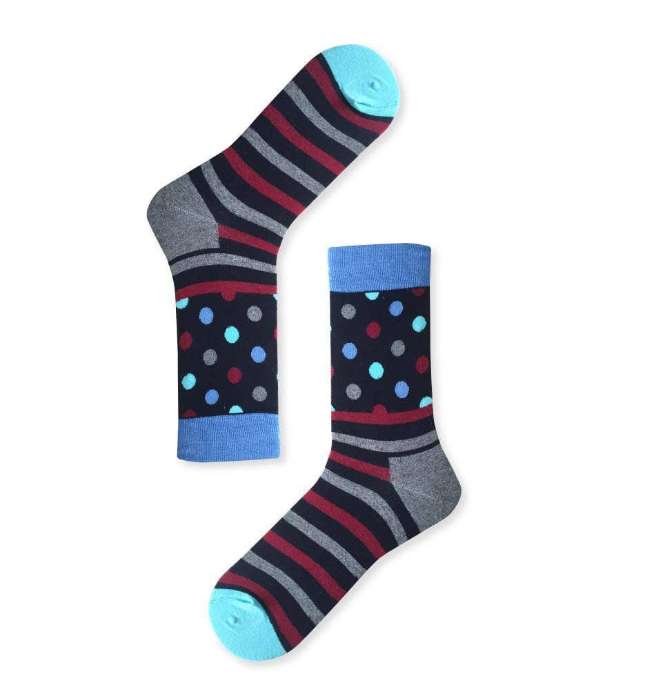 DOT & STRIPE SOCK