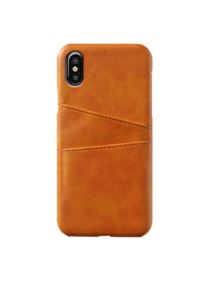 Leather Card Slot Holder For iPhone