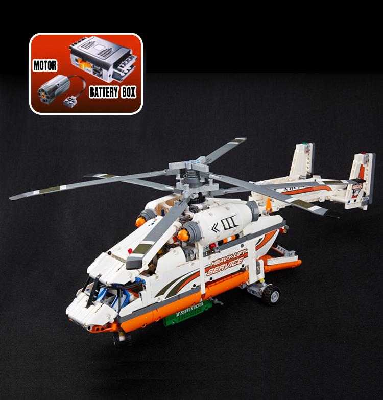 Technic Heavy Lift Helicopter Building Blocks