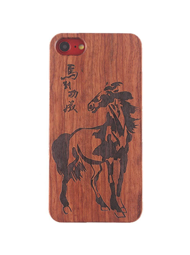 Hand-made Solid Wood Phone Case for iPhone And Samsung