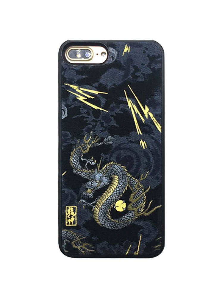 Oriental Cyan Dragon Fashion iPhone Case
