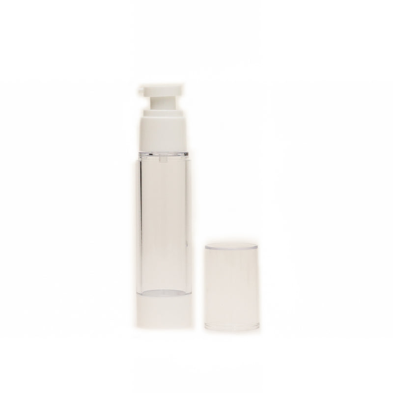 Clear Airless Plastic Bottle - with pump