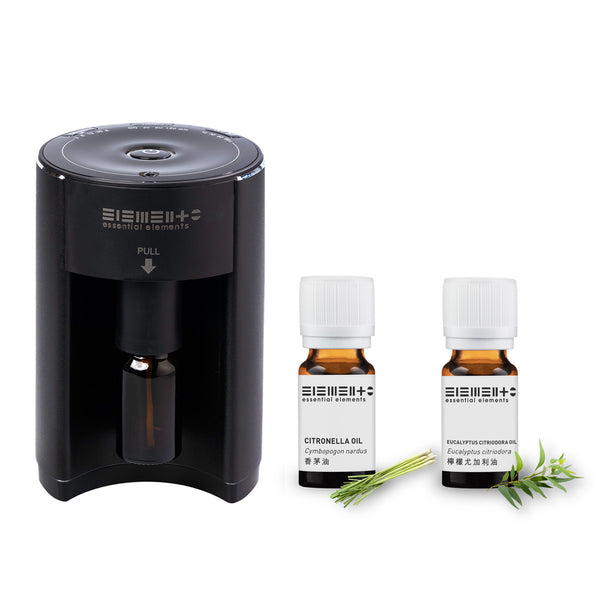 Online Limited - Aroma Nebulizing Diffuser with Essential Oils (Citronella + Eucalyptus Citriodora )