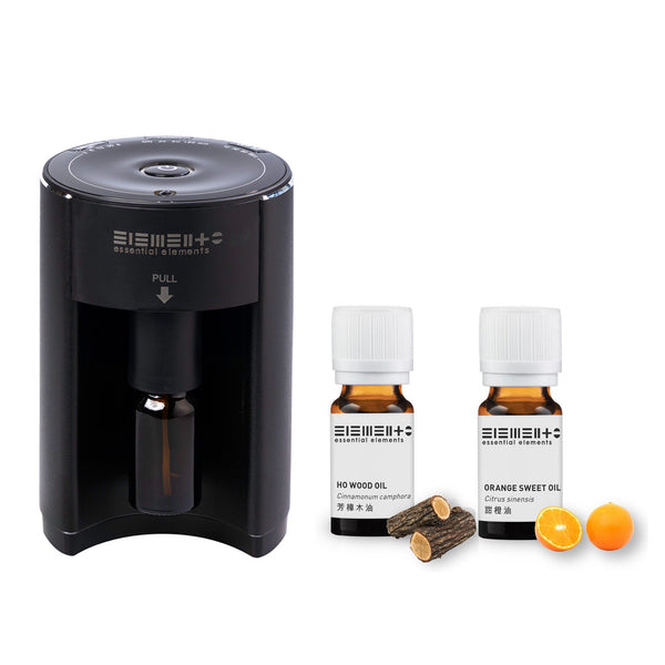 Online Limited - Aroma Nebulizing Diffuser with Essential Oils (Ho Wood + Orange)