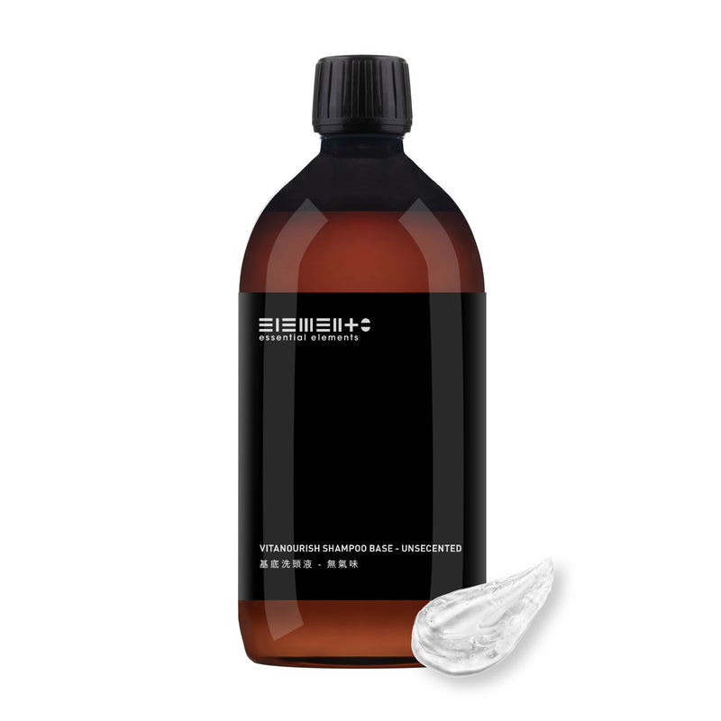 Vitanourish Shampoo Base - unsecented 1000ml