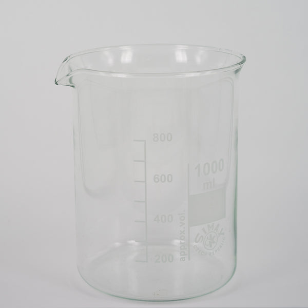 Beaker - Low Form Cap (250ml/ 600ml/1000ml self pickup only)