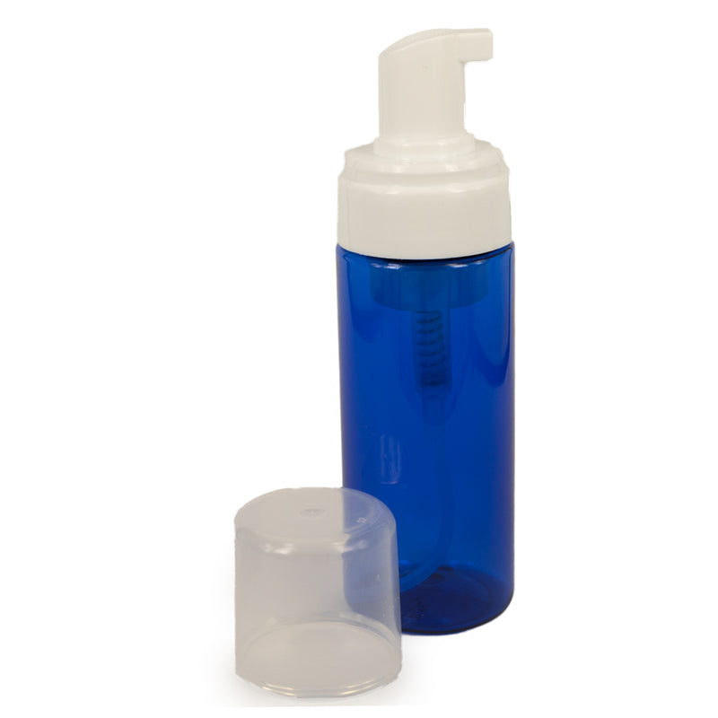 Mousse Foam Pump Blue Bottle (Plastic)