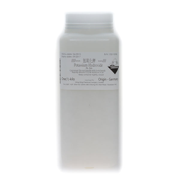 Potassium Hydroxide (Best before: 10/2020)