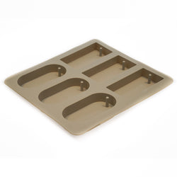 Silicone Mold 6-Cavity Rectangle Tablet