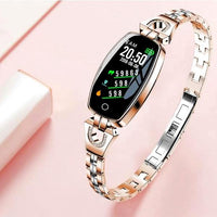 MONTRE BRACELET MULTI FONCTIONNAIRE OR