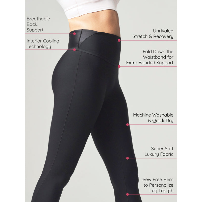 The Serendipity Compression Legging - glowe