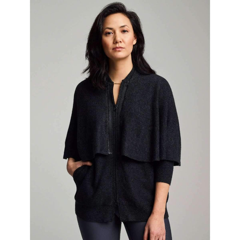 SHERO Cape Cardigan Sweater - glowe