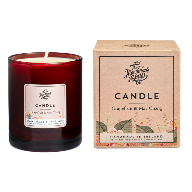 The Handmade Soap Company Soy Wax Candle - Grapefruit & May Chang