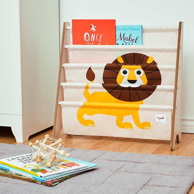 3 SPROUTS BOOK SHELF RACK - LION