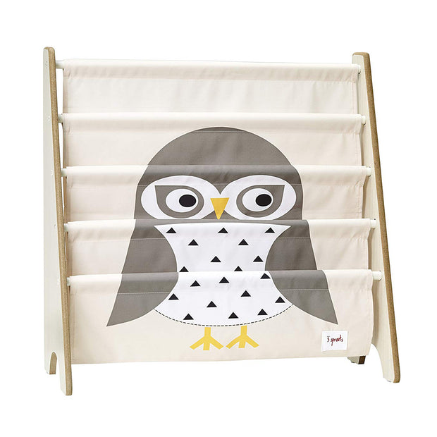 3 SPROUTS BOOK SHELF RACK - OWL