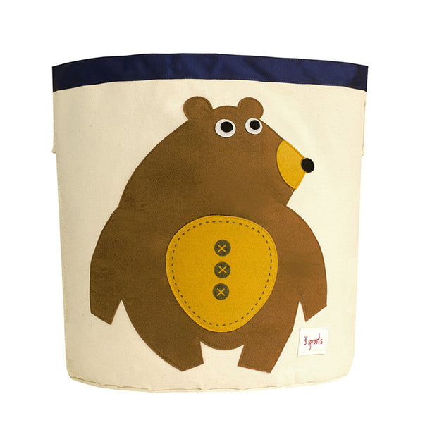 3 SPROUTS TOY STORAGE BIN - BEAR