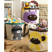 3 SPROUTS TOY STORAGE BIN - HIPPO