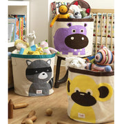 3 SPROUTS TOY STORAGE BIN - RACCOON