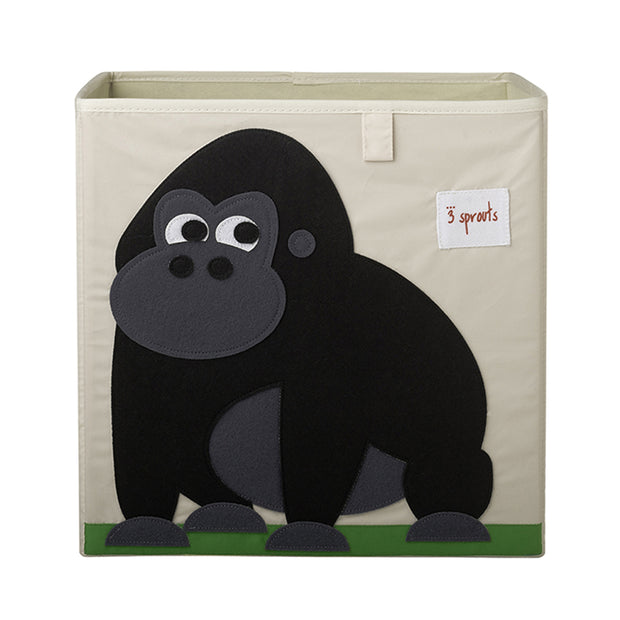3 SPROUTS TOY STORAGE BOX - GORILLA