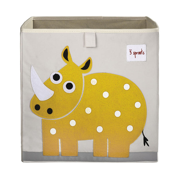 3 SPROUTS TOY STORAGE BOX - RHINO