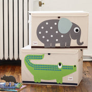 3 SPROUTS LARGE TOY CHEST - ELEPHANT