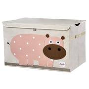 3 SPROUTS LARGE TOY CHEST - HIPPO