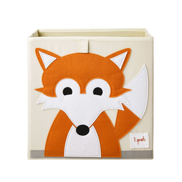 3 Sprouts Toy Storage Box - Fox