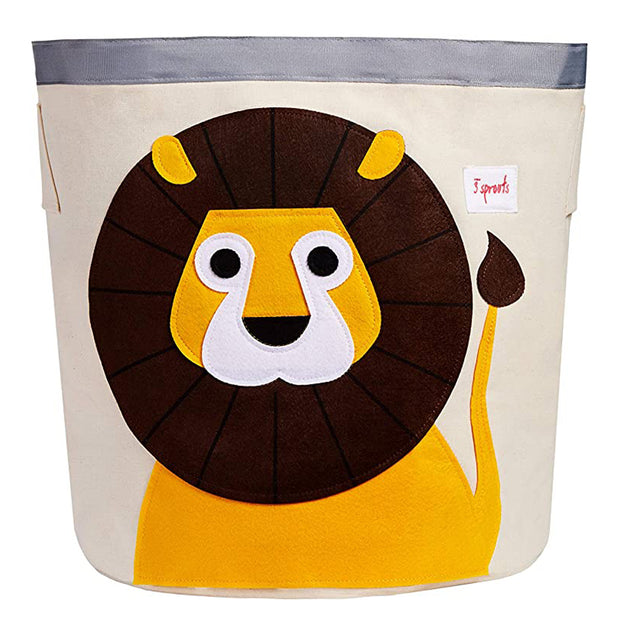 3 SPROUTS TOY STORAGE BIN - LION