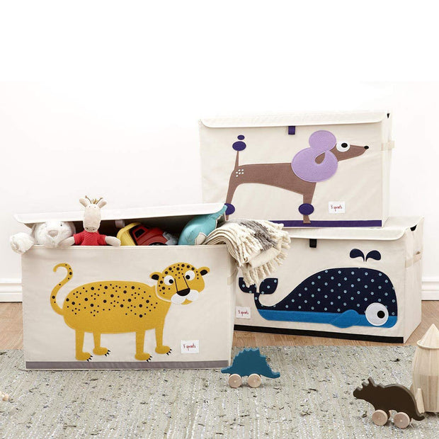 3 Sprouts Large Toy Chest - Sheep