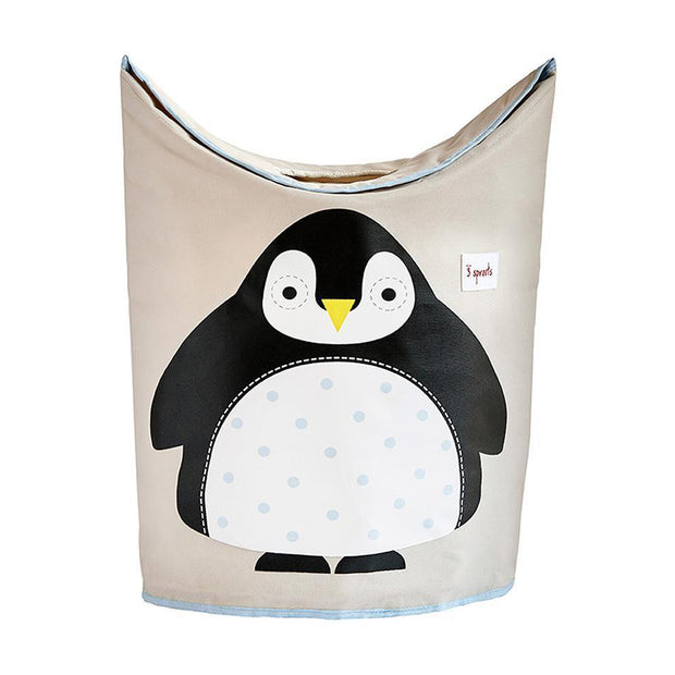 3 SPROUTS LAUNDRY HAMPER - PENGUIN
