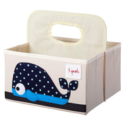 3 SPROUTS DIAPER CADDY - WHALE